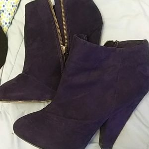 Forever 21 high heeled booties